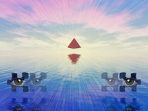 мистические символы Стоковые Фотографии RF