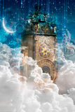 Мистические часы Стоковые Изображения