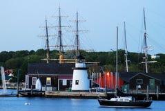 Мистический морской порт, Коннектикут Стоковое Изображение RF