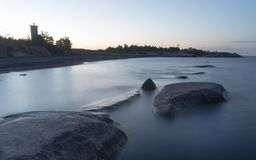 мистическое море Стоковые Фото