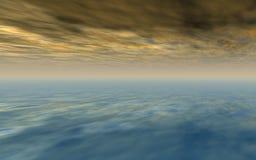 мистическое небо Стоковое Фото