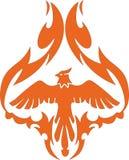 мифологический phoenix Стоковое Изображение