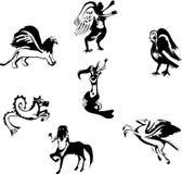 мифологическое тварей легендарное Стоковые Фото