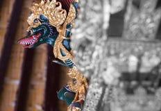 Мифология дракона Бали стоковая фотография rf