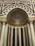 Михраб внутри пещеры патриарх, Иерусалима Стоковое фото RF