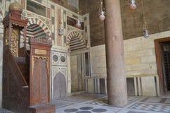 Михраб мечети Стоковая Фотография