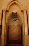 Михраб мечети Putra в Малайзии стоковое изображение