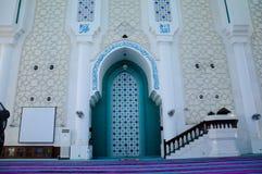 Михраб султана Ahmad Shah 1 мечеть в Kuantan стоковые фотографии rf