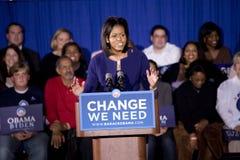Мишель Obama Стоковое фото RF