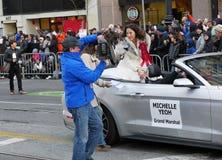 Мишель Yeoh на китайском параде Сан-Франциско 2018 Стоковые Изображения