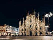 Милан, Италия - 12-ое сентября 2016: Церковь собора Duomo милана Стоковое Изображение RF