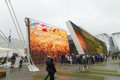 Милан 2015 - Италия экспо Стоковое Фото