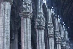 милан купола собора Стоковые Фотографии RF