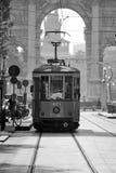 Милан трамвайной линии Стоковые Изображения RF