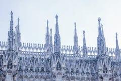 Милан, Duomo стоковое фото rf