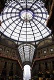Милан - Galleria Vittorio Emanuele II - июнь 2012 Стоковые Фотографии RF