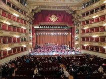 Милан La Scala Стоковая Фотография