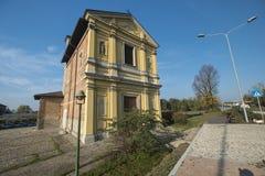 Милан Nerviano: историческая церковь стоковые фото