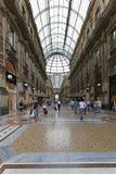 Милан Vittorio Emanuele Galleria Стоковое фото RF