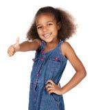 Милая африканская девушка Стоковое Фото