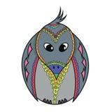 Милая ворона шаржа бесплатная иллюстрация
