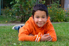 Милая гонка цыганина мальчика Стоковая Фотография