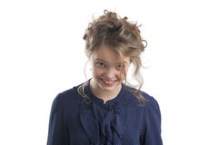 милая девушка меньший портрет Стоковое Фото