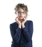 милая девушка меньший портрет Стоковые Изображения RF