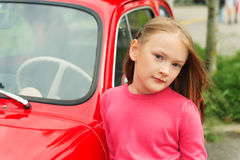 милая девушка меньший портрет Стоковое Изображение RF