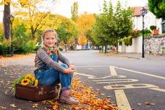 милая девушка меньший портрет Стоковое фото RF