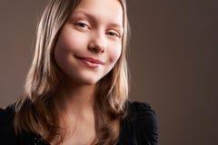 Милая девушка подростка, конец-вверх Стоковое Изображение
