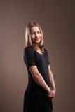 Милая девушка подростка стоковое фото