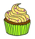Милая иллюстрация пирожного Стоковое Изображение RF