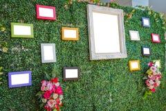 Милая картинная рамка свадьбы Стоковая Фотография