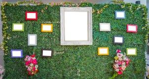 Милая картинная рамка свадьбы Стоковое Фото