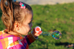 Милая маленькая девочка Стоковая Фотография RF
