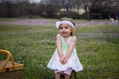 Милая маленькая девочка Стоковые Фото