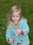 Милая маленькая девочка Стоковое Изображение