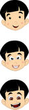 Милая маленькая молодая голова мальчика Стоковые Фото