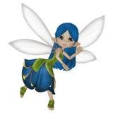 Милая маленькая фея шаржа Стоковая Фотография RF