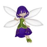 Милая маленькая фея шаржа Стоковые Фото