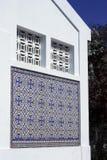 Милая мозаика на стороне здания Стоковое Изображение