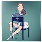 Милая молодая балерина Стоковые Изображения