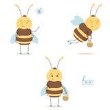 Милая пчела Стоковая Фотография