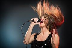 Милая рок-звезда стоковые фото