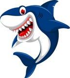 Милая сердитая акула Стоковая Фотография