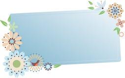 милая флористическая рамка Стоковые Фото