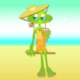 Милая лягушка Стоковая Фотография