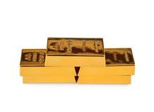 Миллиард золота Стоковое Изображение RF