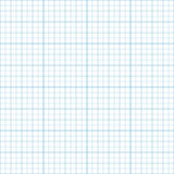 Миллиметровки дюйма вектора картина голубой безшовная Стоковые Фотографии RF